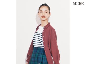 『ZARA』の6355円のシャツワンピースで小顔見え! その着回し力を立証!