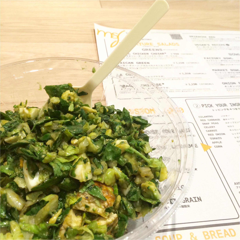 話題のチョップドサラダでおなかいっぱい♡ 『わたしのサラダ製作所。My SALAD FACTORY!』ってどんなお店?_3