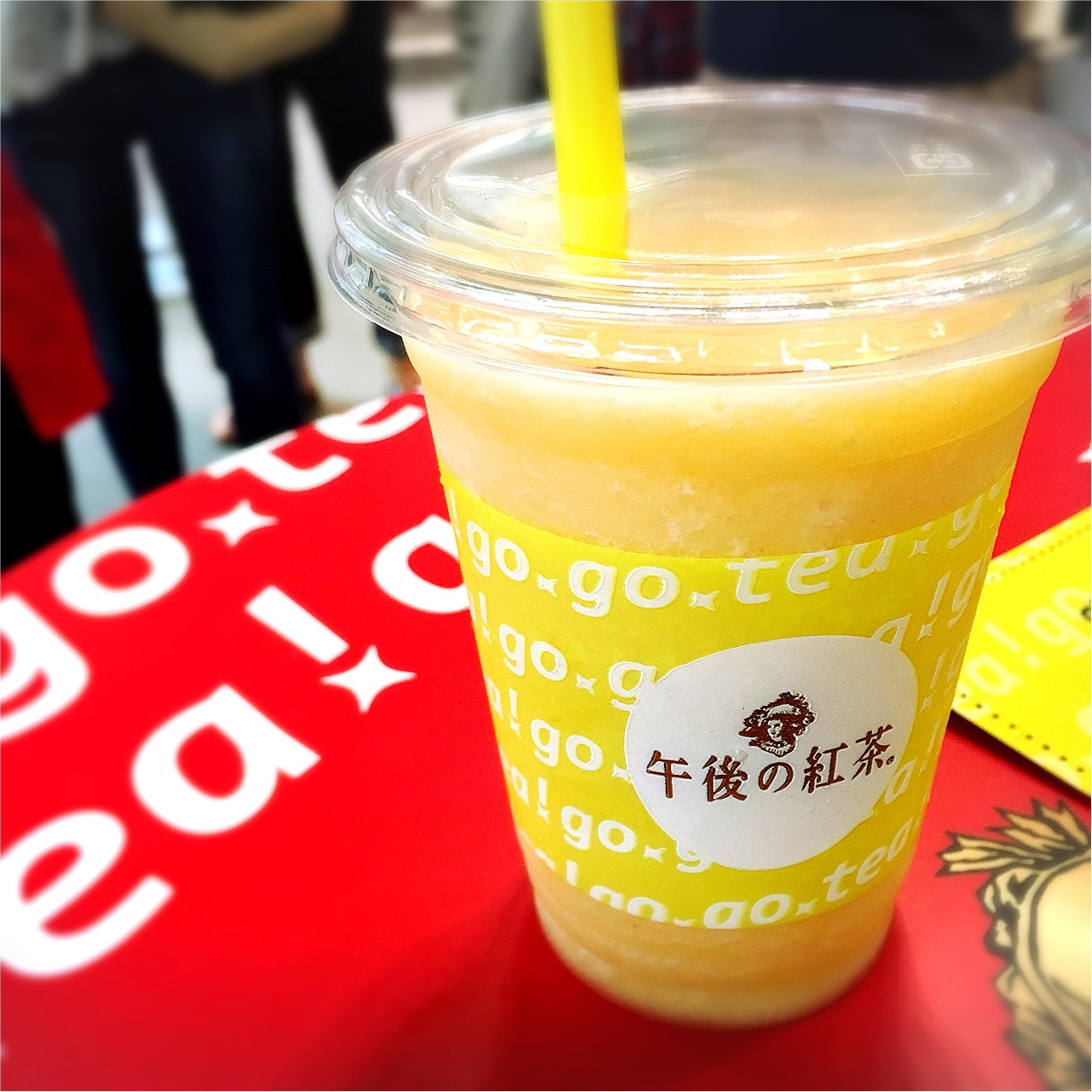 《全国順次展開!》紅茶とフルーツの良いとこ取りスムージー❤️【日本初上陸ハワイのスムージーショップ】と【午後ティー】が夢のコラボ✨_1