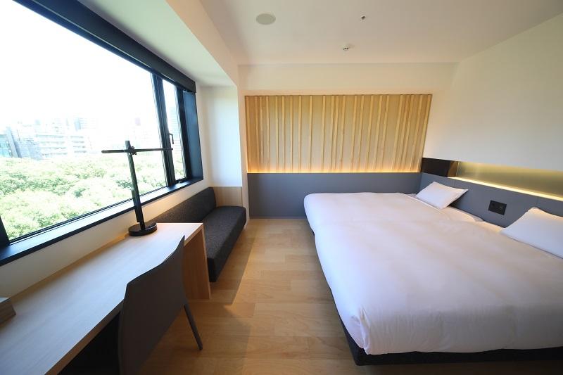 【名古屋のおしゃれホテル】『ホテル・アンドルームス名古屋栄』、スーペリアツイン