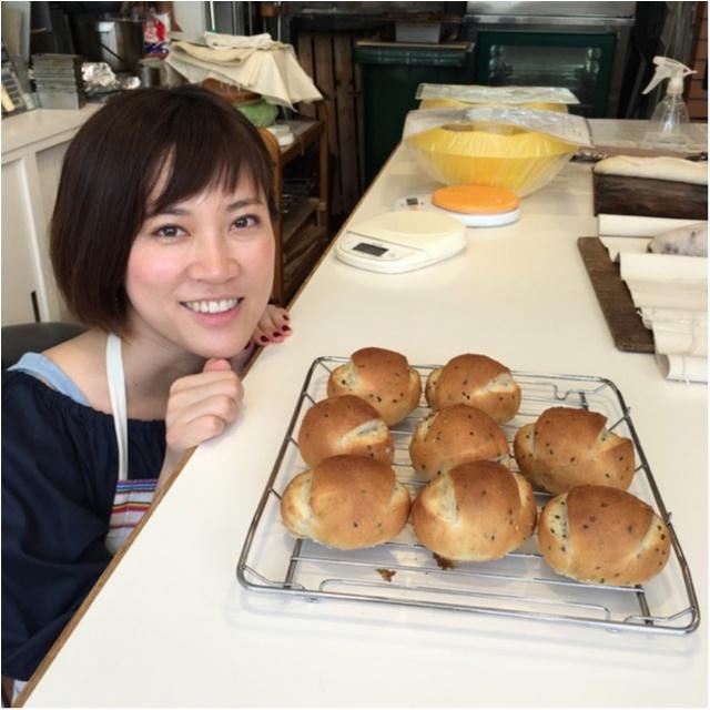 【ごまパン体験】初めてのパン教室はお友達といこう( ^ω^ )!_3