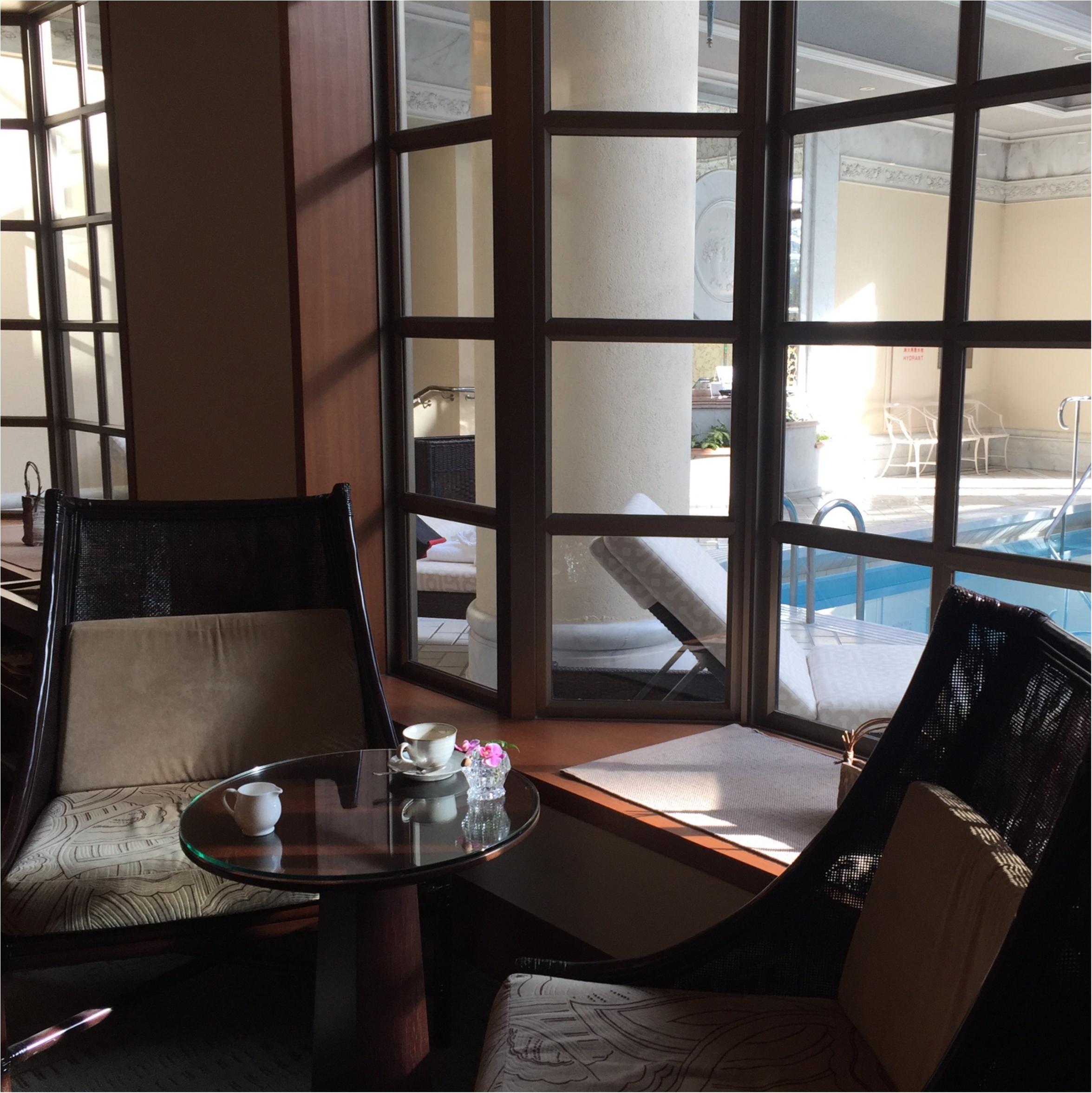 「ホテル椿山荘東京」でスパ▶︎アフタヌーンティ_1