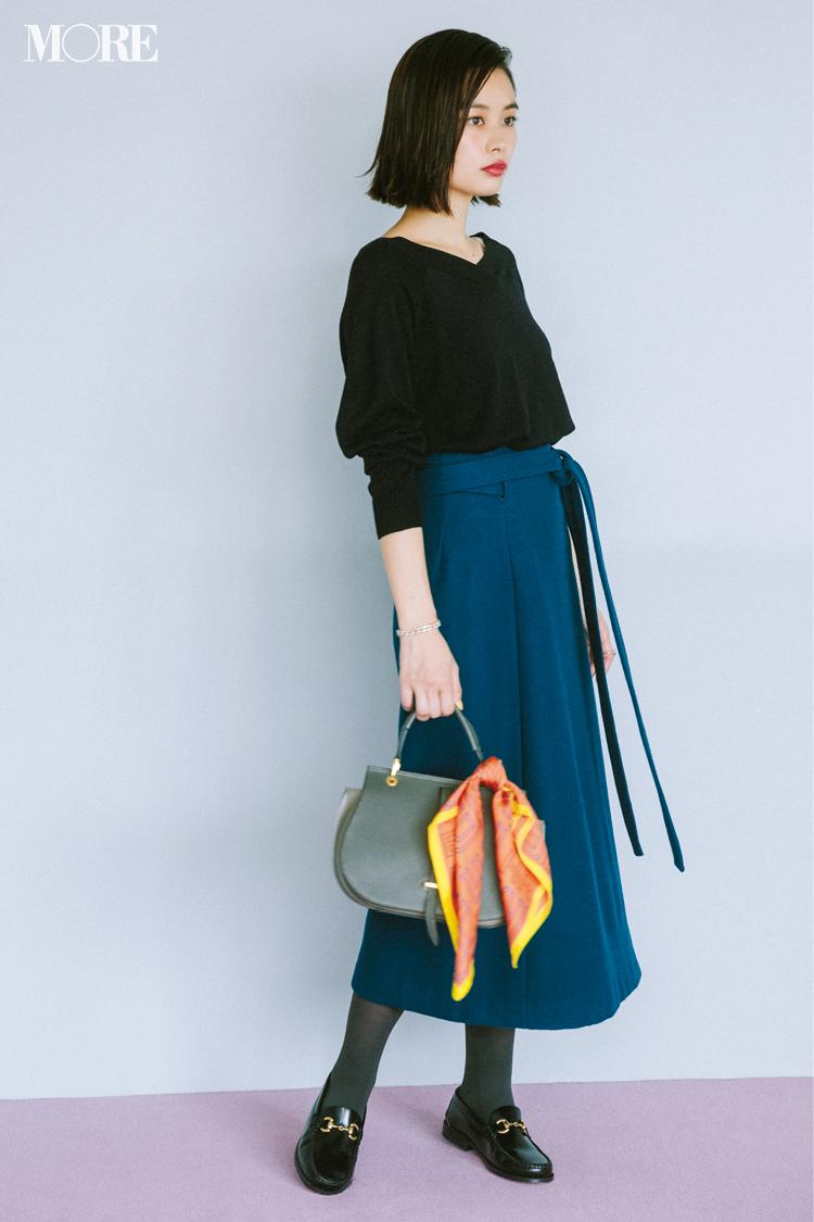 2018年秋のファッション ニット42