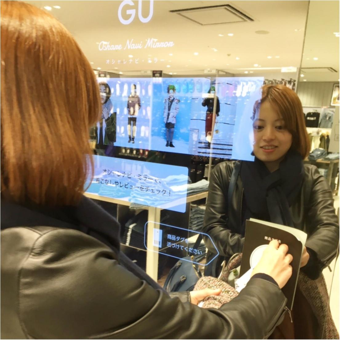 《超大型店限定》ざっくり感がかわいすぎっ♡ GUのケーブルセーター!_2_2