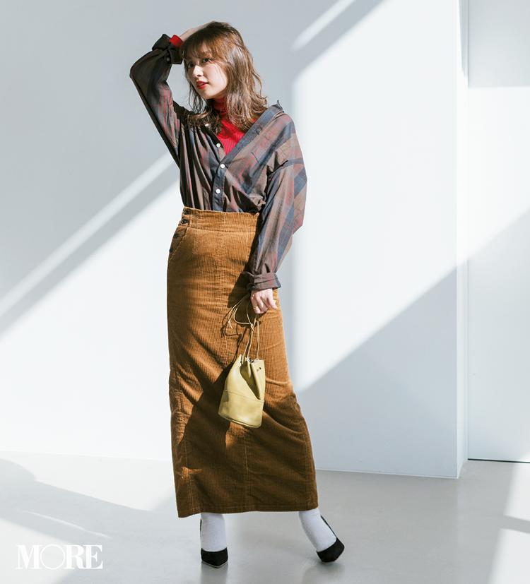 ビッグサイズがポイント! 2019年冬から春かけて着たいシャツコーデ  Photo Gallery_1_11