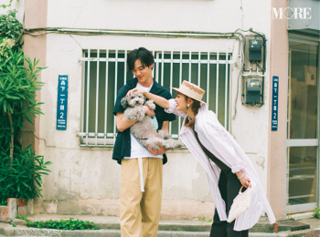 「衝撃のラスト!遠藤さんが連れてきたのは……♡」内田理央主演・毎日連載『ミスブラウンの愛され着回し』最終日