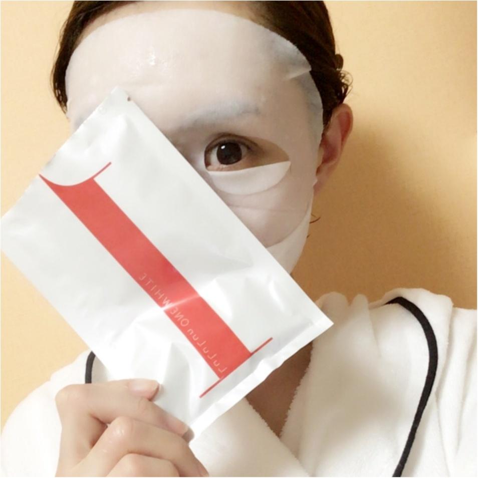 紫外線を浴びた後のスペシャルスキンケアは【白のルルルン】で決まり♡_6