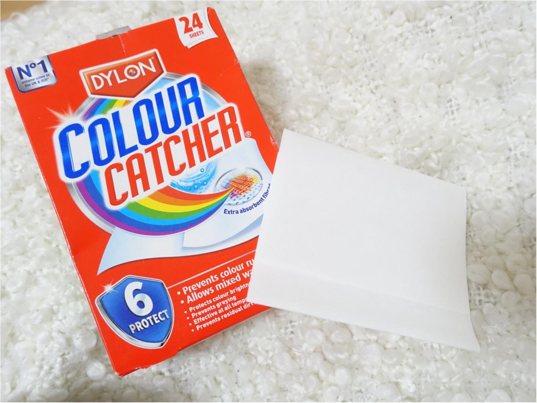 洗濯物を分ける必要なし!《COLOUR CATCHER》があれば色移りは無縁かも?!_1