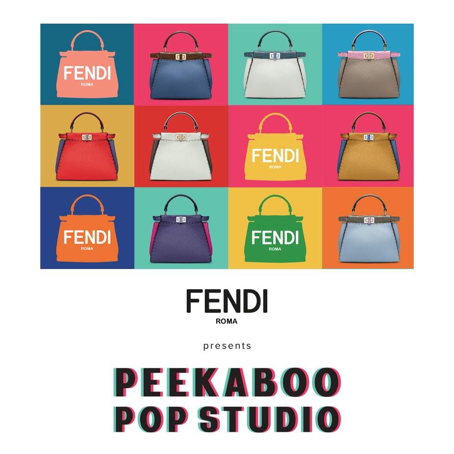 『フェンディ』のアイコンバッグをカスタマイズ☆『PEEKABOO POP STUDIO』が東京・北海道・福岡・大阪を巡ります!_1
