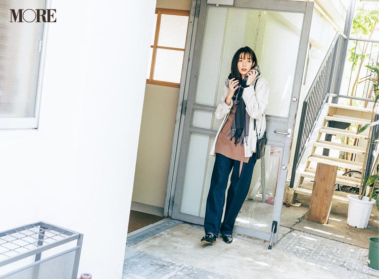 涼しいから?人肌恋しい季節です。佐藤栞里主演「全気温対応コーデ」着回し8日目_1