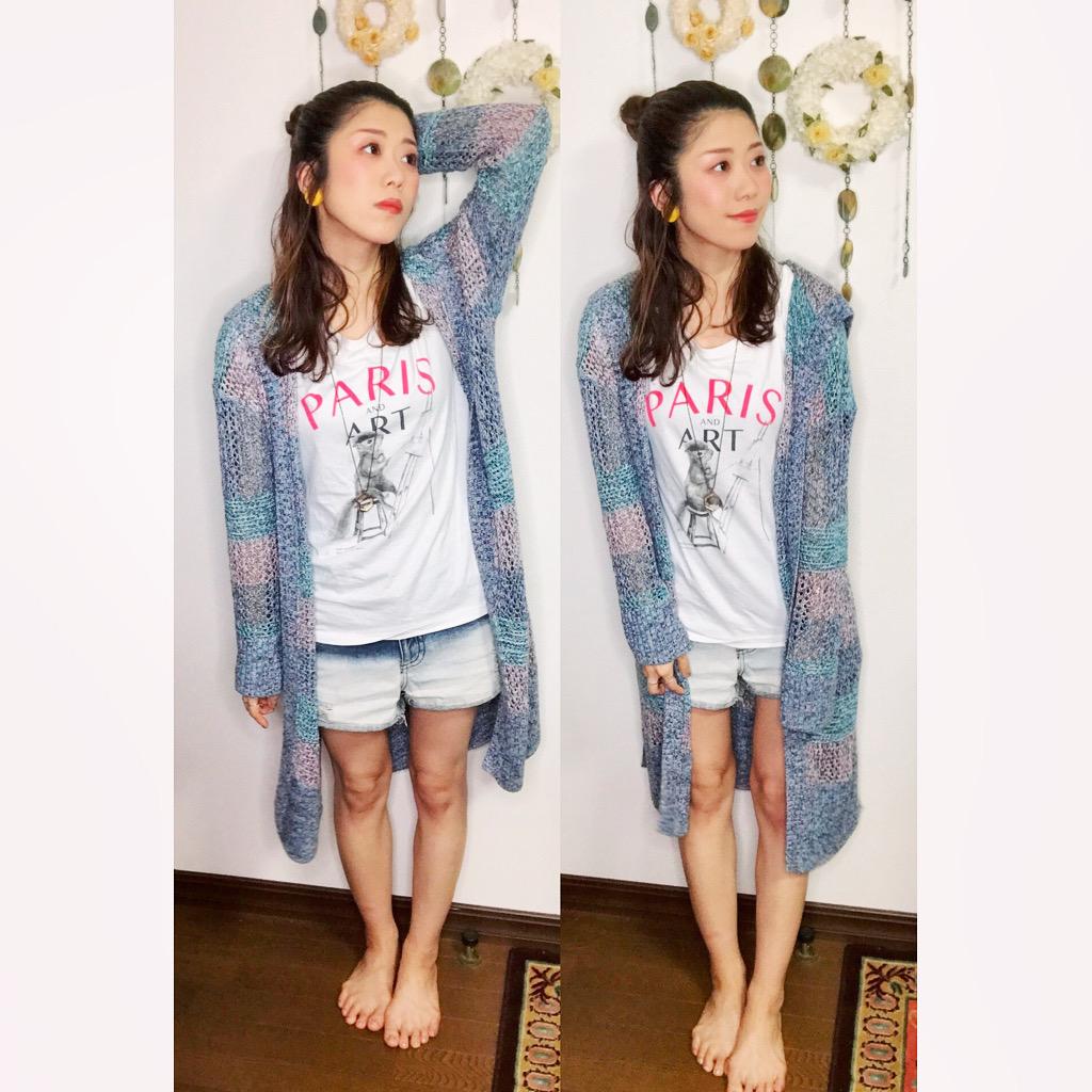 【オンナノコの休日ファッション】2020.6.13【うたうゆきこ】_1