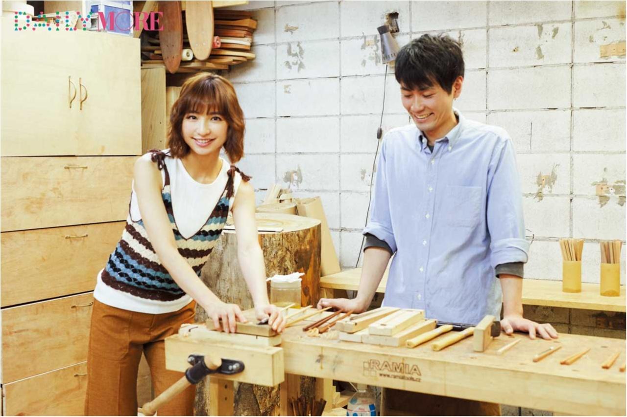 篠田麻里子が体験♡ 話題の「お箸作り」に行こう!【麻里子のナライゴトハジメ】_1