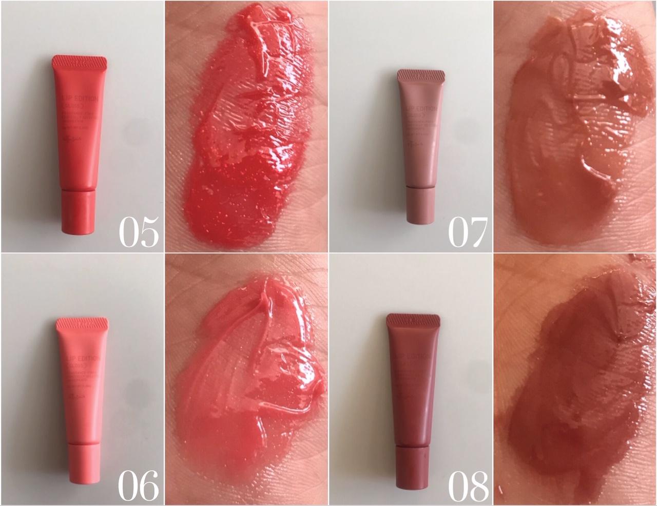 新『エテュセ』の「リップエディション(グロス)」を全色お試し♡ 唇用美容液としてケアしながらメイクできておすすめ_5