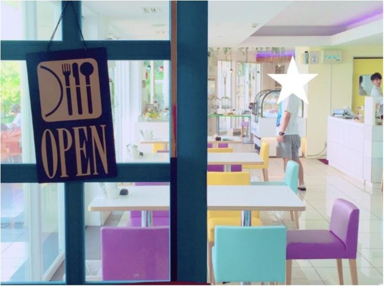【沖縄女子旅】このドリンクがイチオシ!沖縄カフェの大定番♡ダイヤモンドブルーカフェ_2