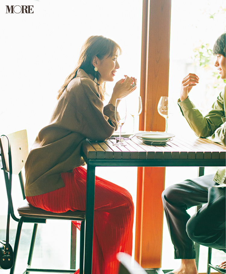 「恋が走り出す! 流されてるだけじゃない、よね……?」内田理央主演・毎日連載『ミスブラウンの愛され着回し』17日目_1