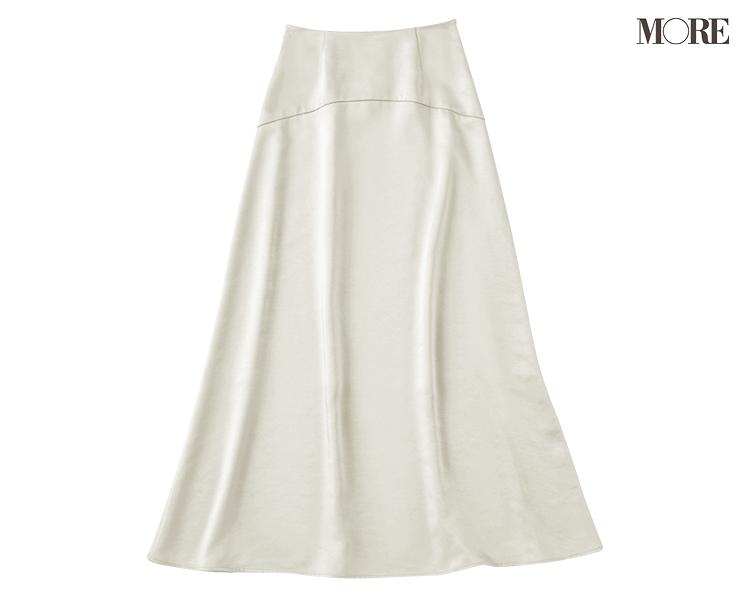 「サテン素材のスカートを買い足したら、なぜか主役に?」井桁弘恵主演[2月→4月の計画的買い足し着回し]6日目_2