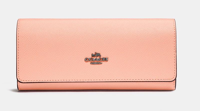 『COACH(コーチ)』のピンク長財布