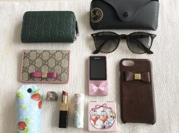【20代女子の愛用財布】GUCCI♡ルイ・ヴィトンと《バッグの中身》をご紹介します!