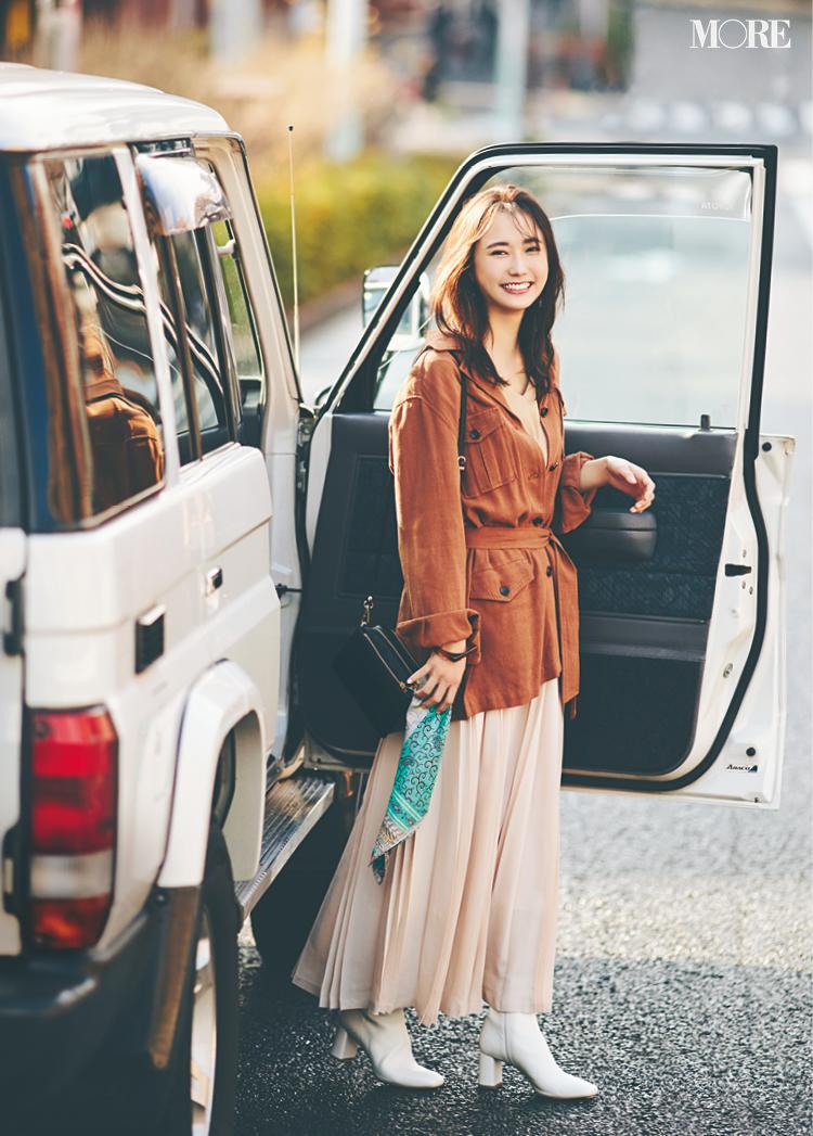 縦長トートバッグで通勤スタイルを更新♪ 春のオフィスコーデ、着回し連載が参考になる!【今週のファッション人気ランキング】_1_3