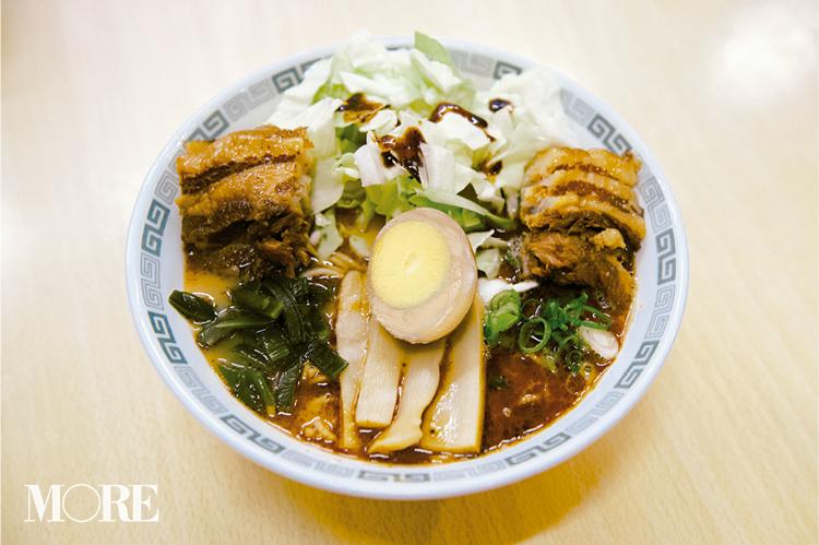 女優・森川葵さんゾッコンの一杯は、食べごたえ満点の『桂花ラーメン』の太肉麺♪_3