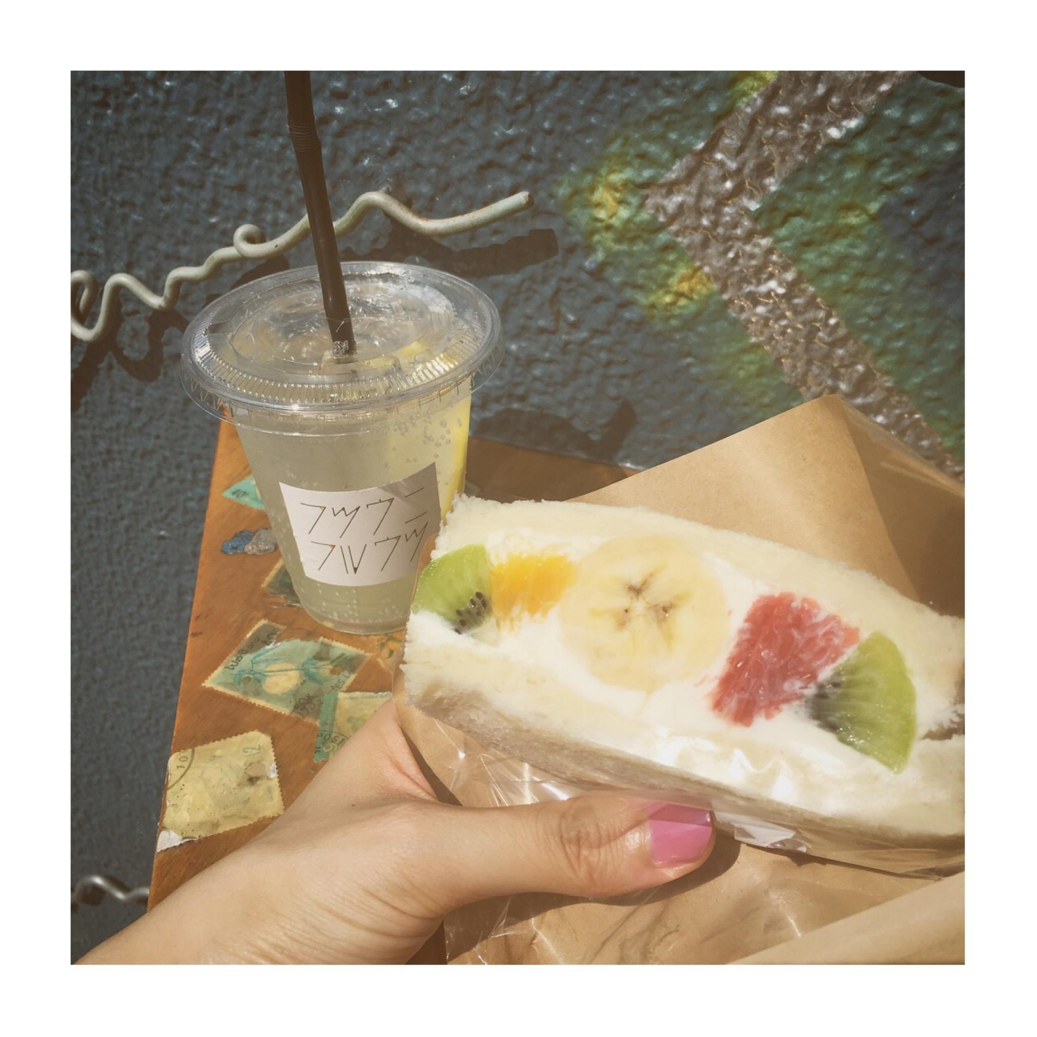 #6【#cafestagram】❤️:《中目黒》に行ったら寄りたい、究極のフルーツサンド!「フツウニフルウツ」☻ _2