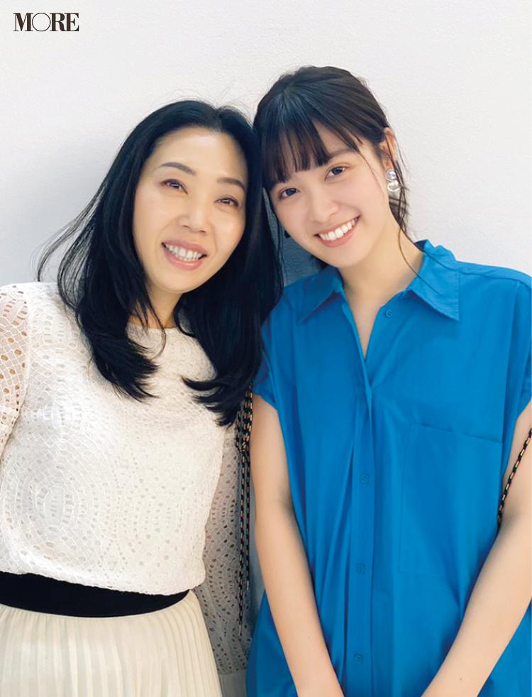 松本愛、憧れの美容家に会えてご満悦♡【モデルのオフショット】_1