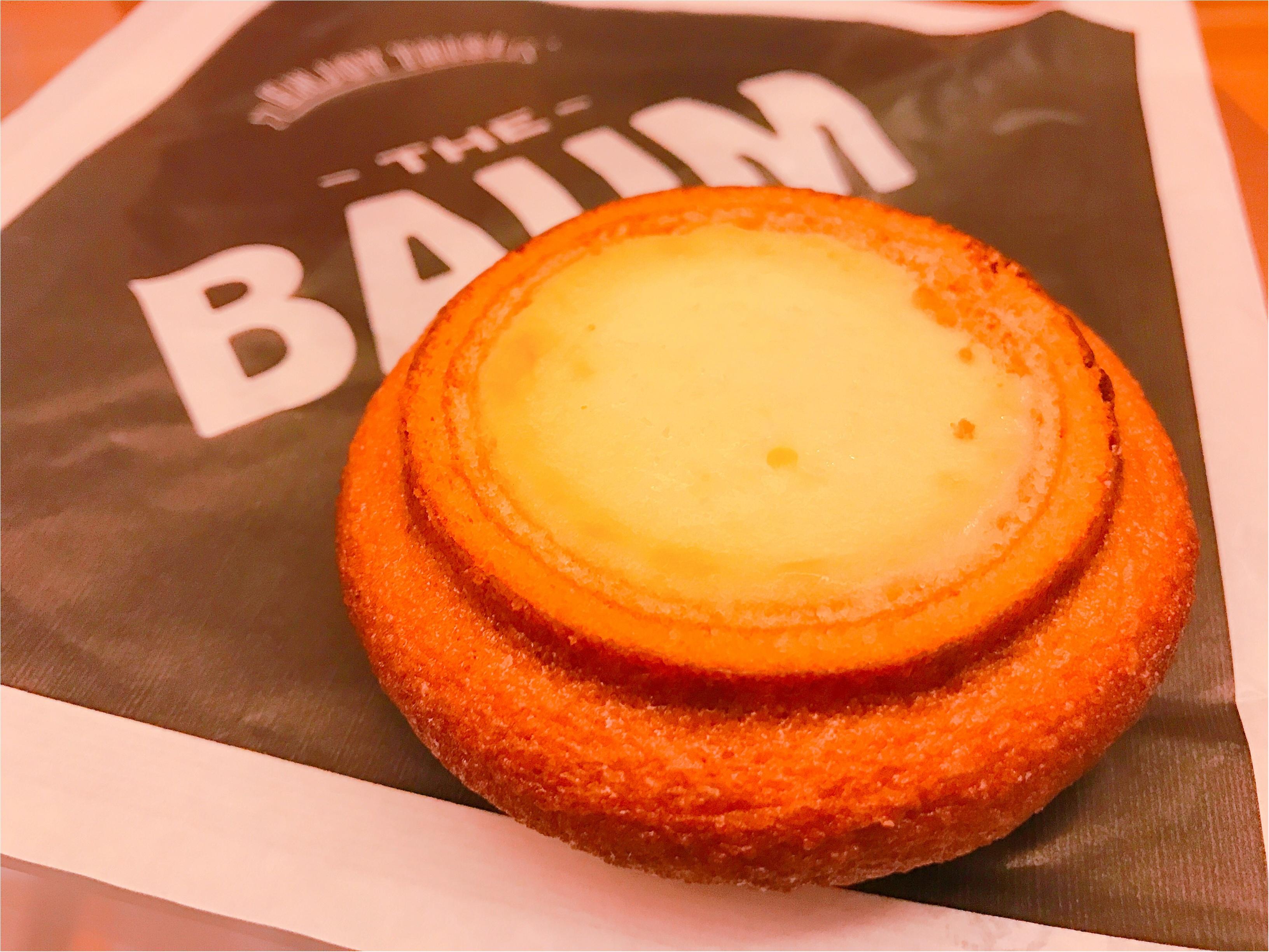楽しみ方は3通り♪新感覚ハイブリッドスイーツ【THE BAUM】の《チーズ イン ザ バウム》が美味い♡_3