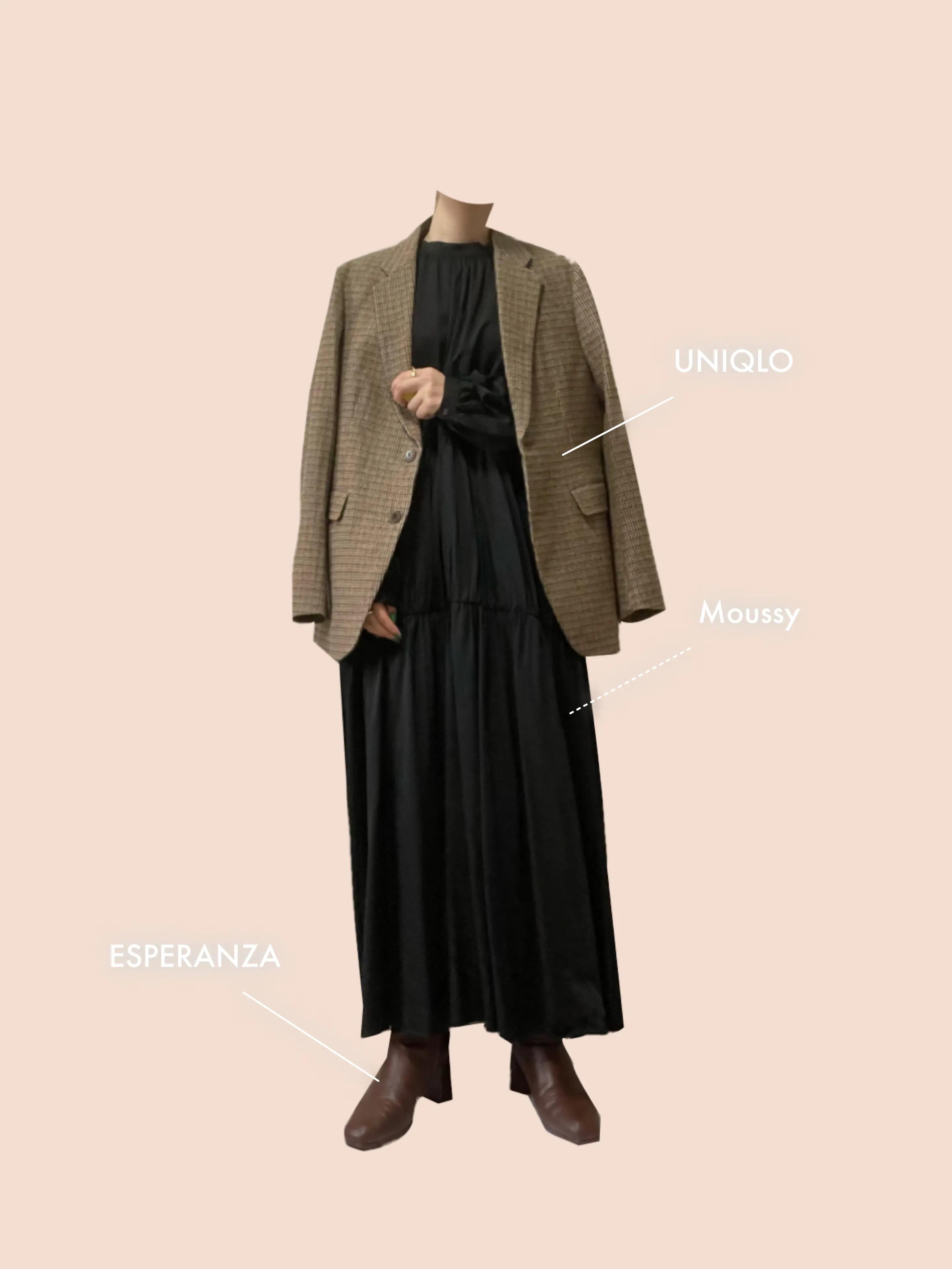 『ユニクロ』のジャケットコーデ