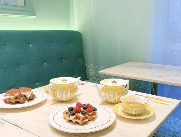 【6月27日OPEN】かわいすぎるカフェ〈Salon de Louis 2号店〉が南青山に登場!_5