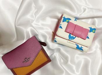 【20代女子の愛用財布】気分で二つ折り財布とミニ財布を使い分け♡