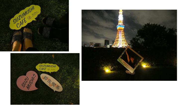 本日8/6から18日までの期間限定【SUZUMUSHI CAFE(スズムシカフェ)】で東京タワーを見ながら一杯どうぞ!_9