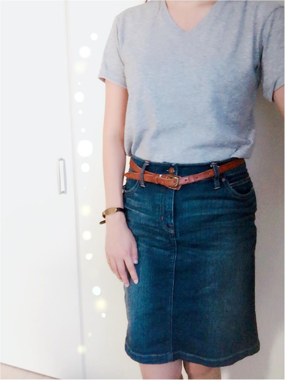 …ஐ Tシャツ王道コーデ!!やっぱり【ジーンズ】が好き♡༓ ஐ¨_1