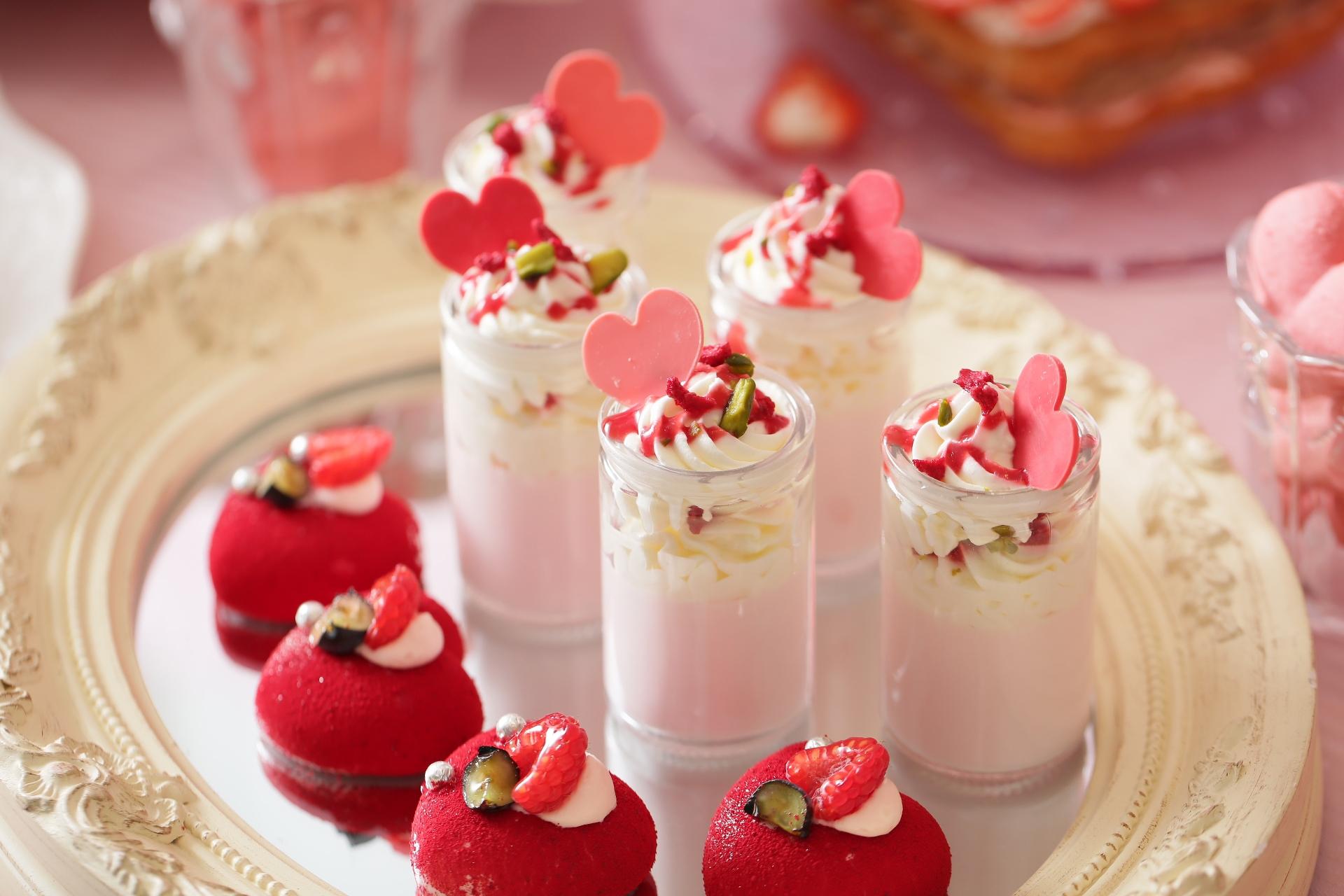 「恋するいちご バレンタインデザートブッフェ」には、いちご・ハート・ベアをモチーフにしたスイーツがいっぱい! 【 #いちご 1】_4