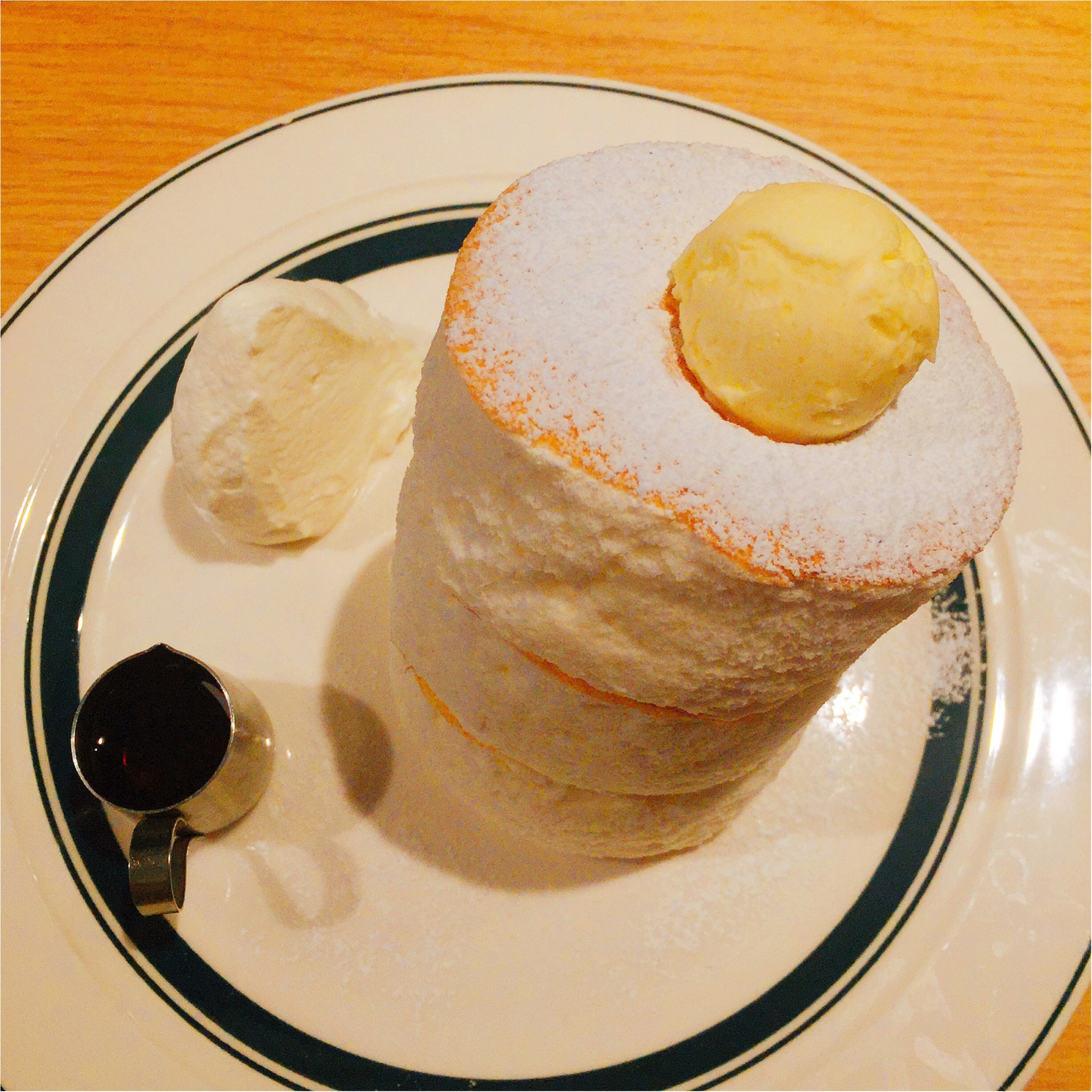 【パンケーキ】1日3回各回20食限定!ぷるっ。ふわっ。大人気『gram』に土曜朝一で並んできました♩_4