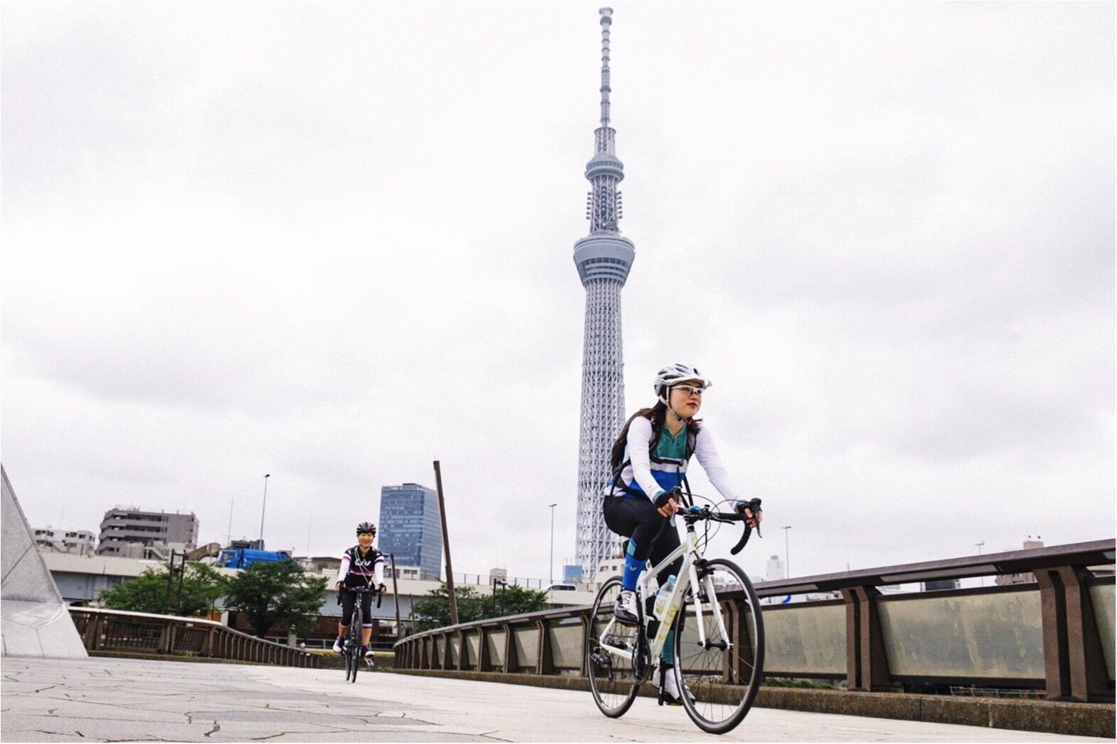 自転車で東京下町めぐり♡築地〜浅草〜東京スカイツリーまで!穴場グルメ&フォトスポットをご紹介♪ #ツール・ド・東北【#モアチャレ さえ】_1