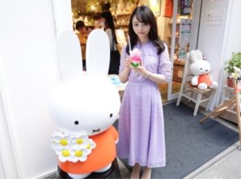【東京・浅草】ミッフィーのお花屋さん!?『flower miffy』に行ってきました【ドリンクスタンドあり】