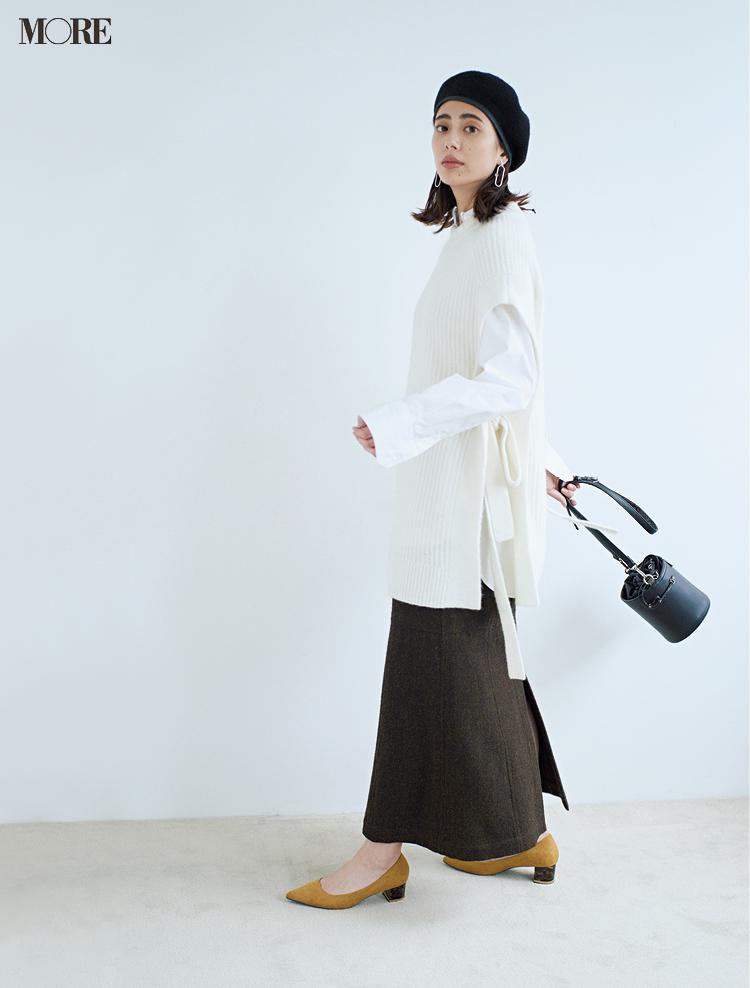 冬の白を誰よりおしゃれに着るために、守るべき配色ルールは「たった1つ」!_1