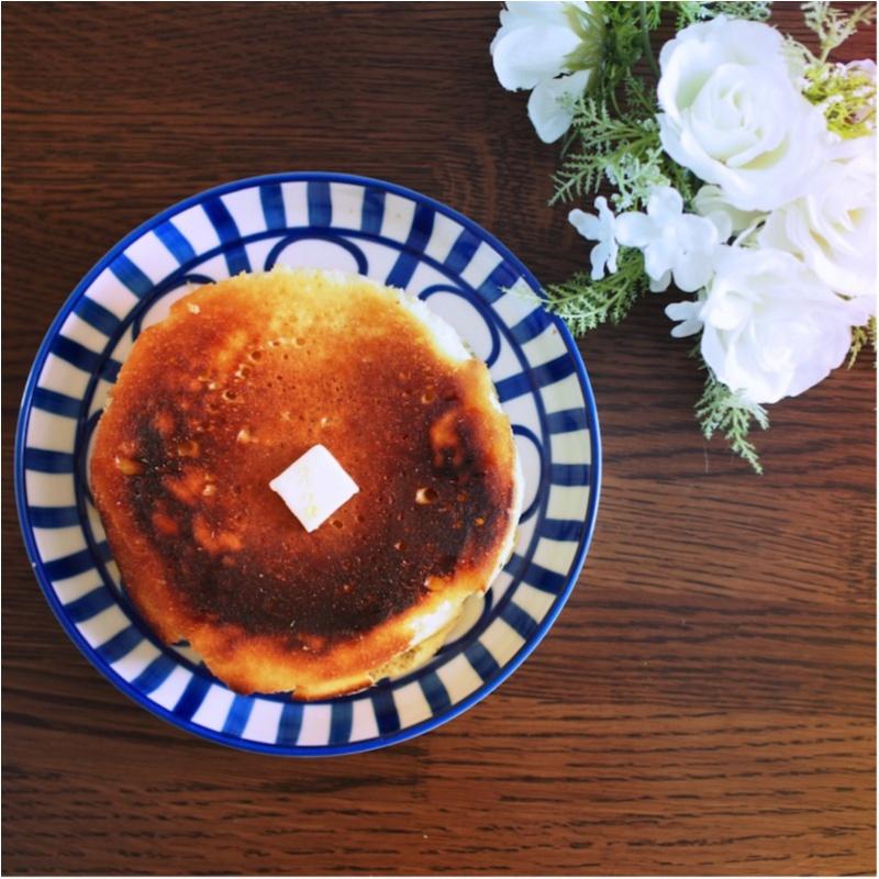 いつもの工程を1つ変えるだけ。cafeみたいな厚くてふわふわホットケーキがお家で食べられる(412あみ)_7