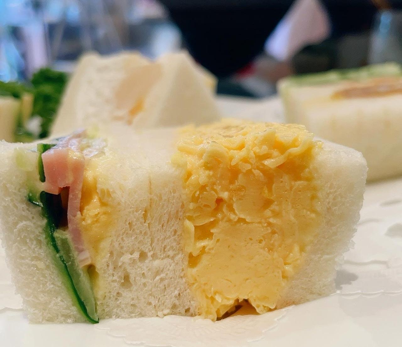 《ふわトロすぎ…》ぷるぷる卵サンドが名物の老舗サンドイッチ店@ルマン_1