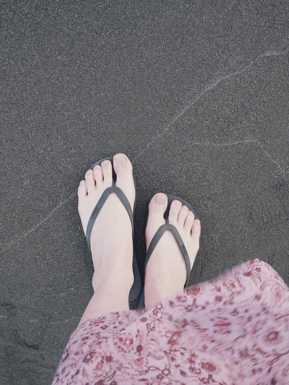 【GU】海へお散歩のワンピース_2