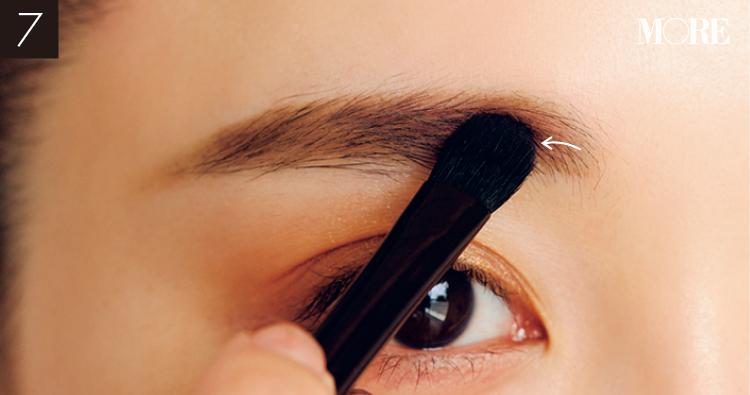 マスク顔の印象は「眉」で変わる♪ ただの可愛いで終わらない、奥行きを感じさせる女っぽ顔になれる、ほんのりピンクな「愛され眉」PhotoGallery_1_13