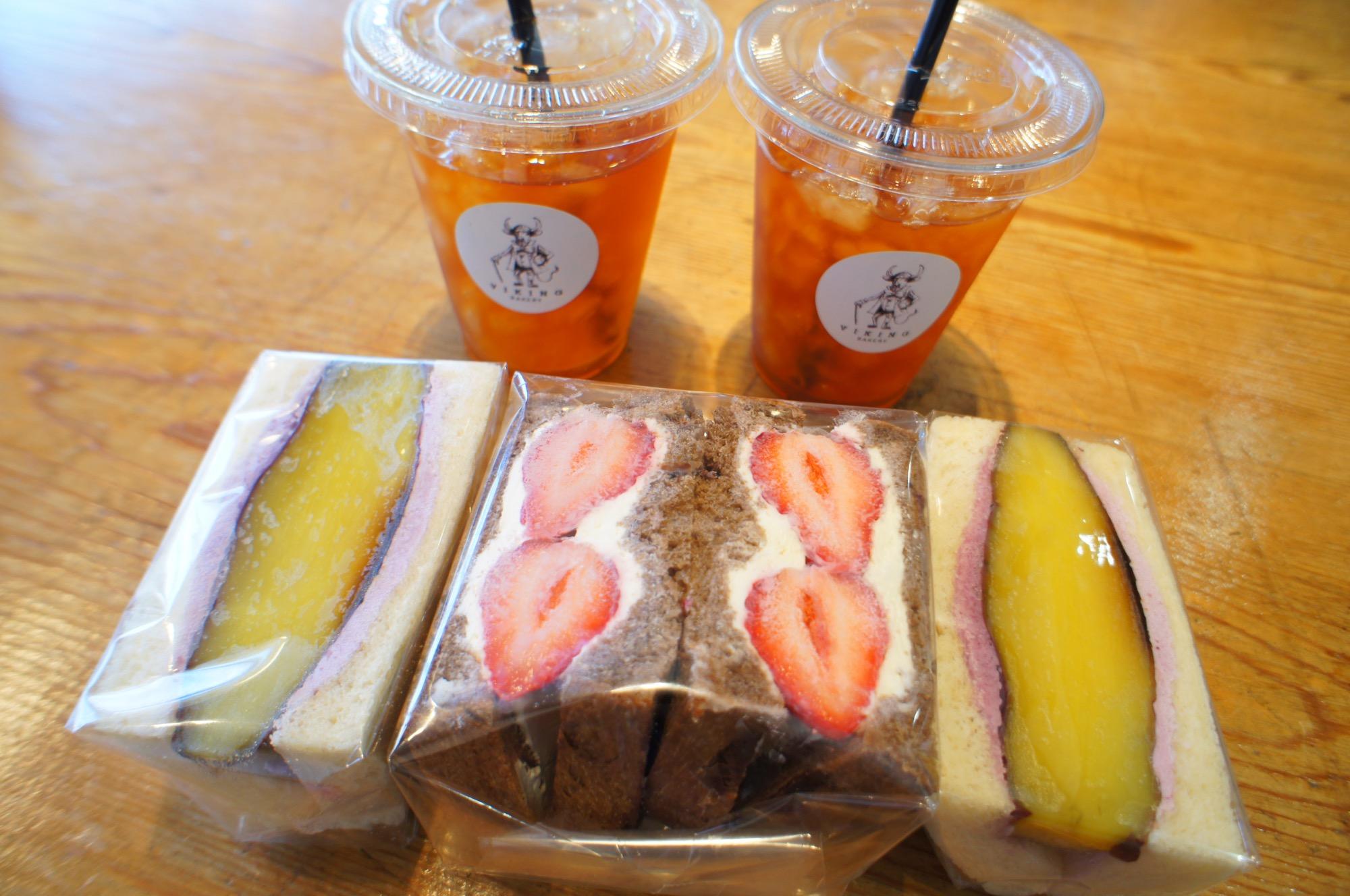 《ご当地MORE✩東京》食パン専門店❤️【VIKING BAKERY F】の絶品あまおう苺サンドイッチ☻_5