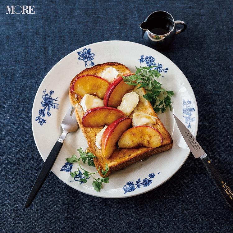 食パンのスイーツアレンジ♡ いちごやりんごなど、フルーツを使った簡単レシピのおすすめ3選_1