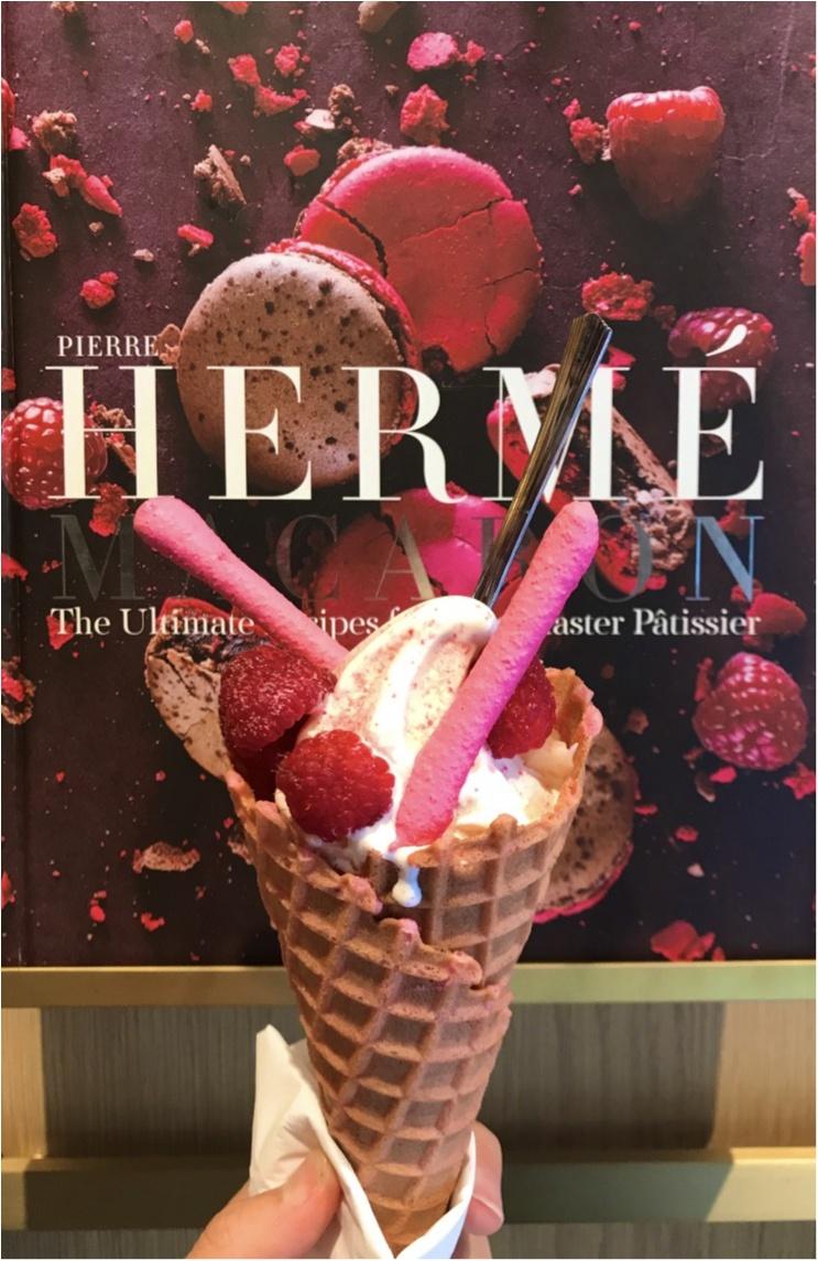 【SWEET】マカロンの王道♡ピエール・エルメのソフトクリームが食べられるのは9/30迄♡_3