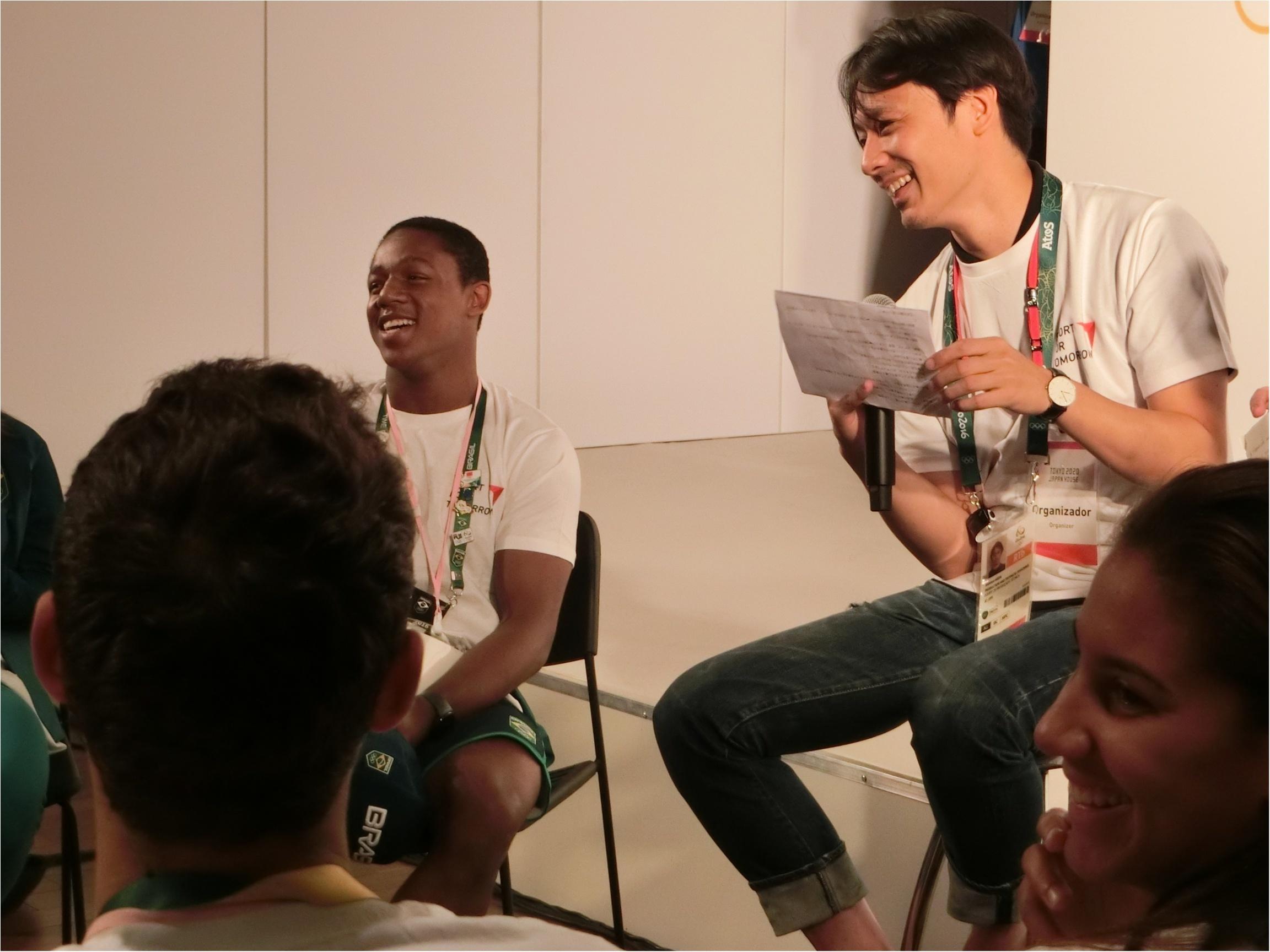 リオ到着! ブラジルのアスリートたちと交流してきました!_3