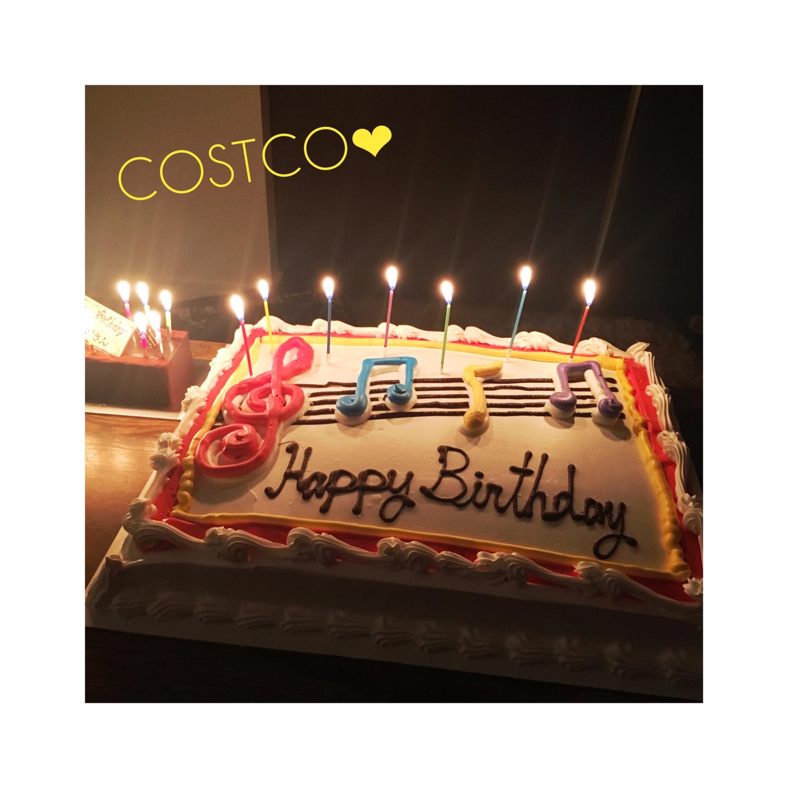 《インパクト大!★》【コストコ】の特大ケーキで誕生日のお祝いをしました❤️_1