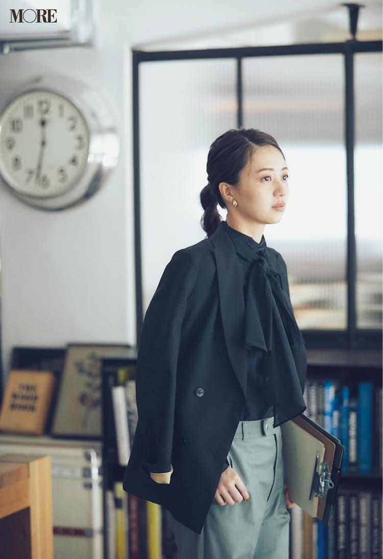 オフィスカジュアルのパンツ特集 - 20代女性におすすめブランドやおしゃれなレディースコーデまとめ | 2020年版_43