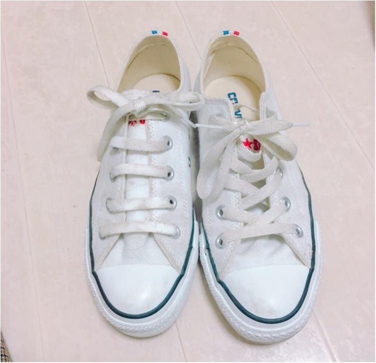 《やっぱり大好きコンバース♡》靴紐の結び方を変えて一味違う履き方してみませんか?_2