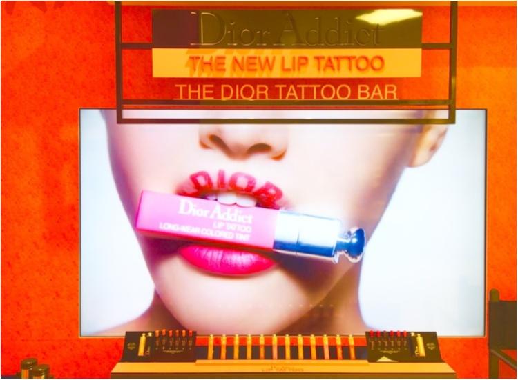 話題のリップが先行発売中❤️10時間耐久⁈【Dior ADDICT】リップタトゥーが超優秀!!_2
