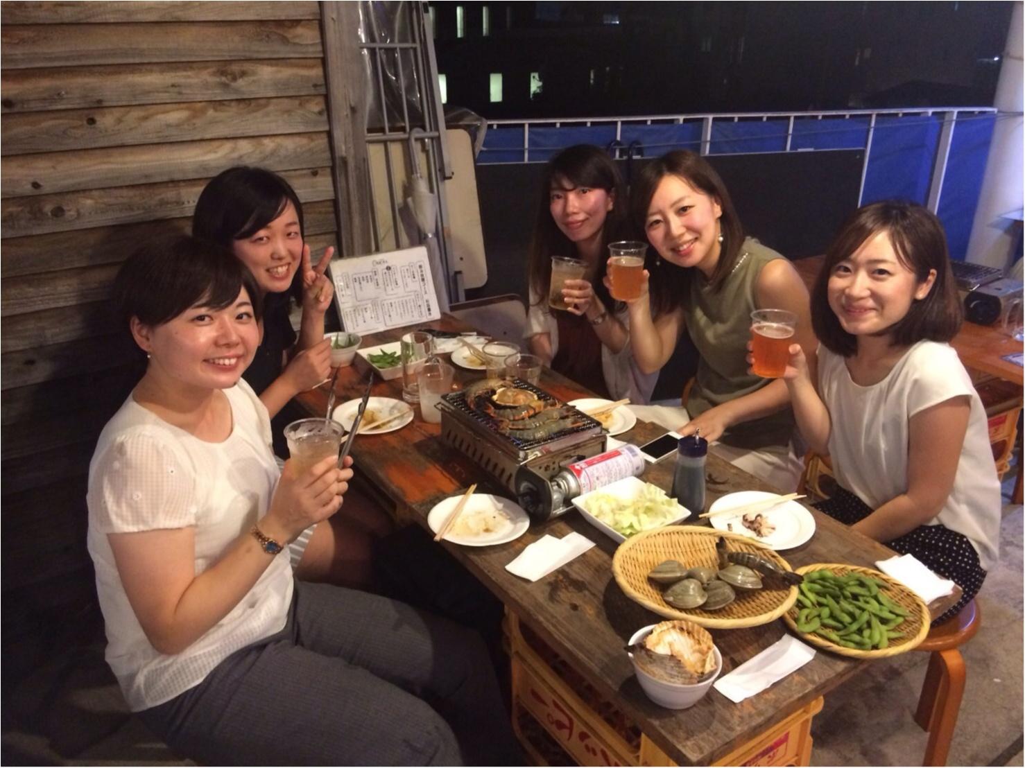 恵比寿で浜焼き❤️海鮮が美味しいビアガーデン★★★ _19